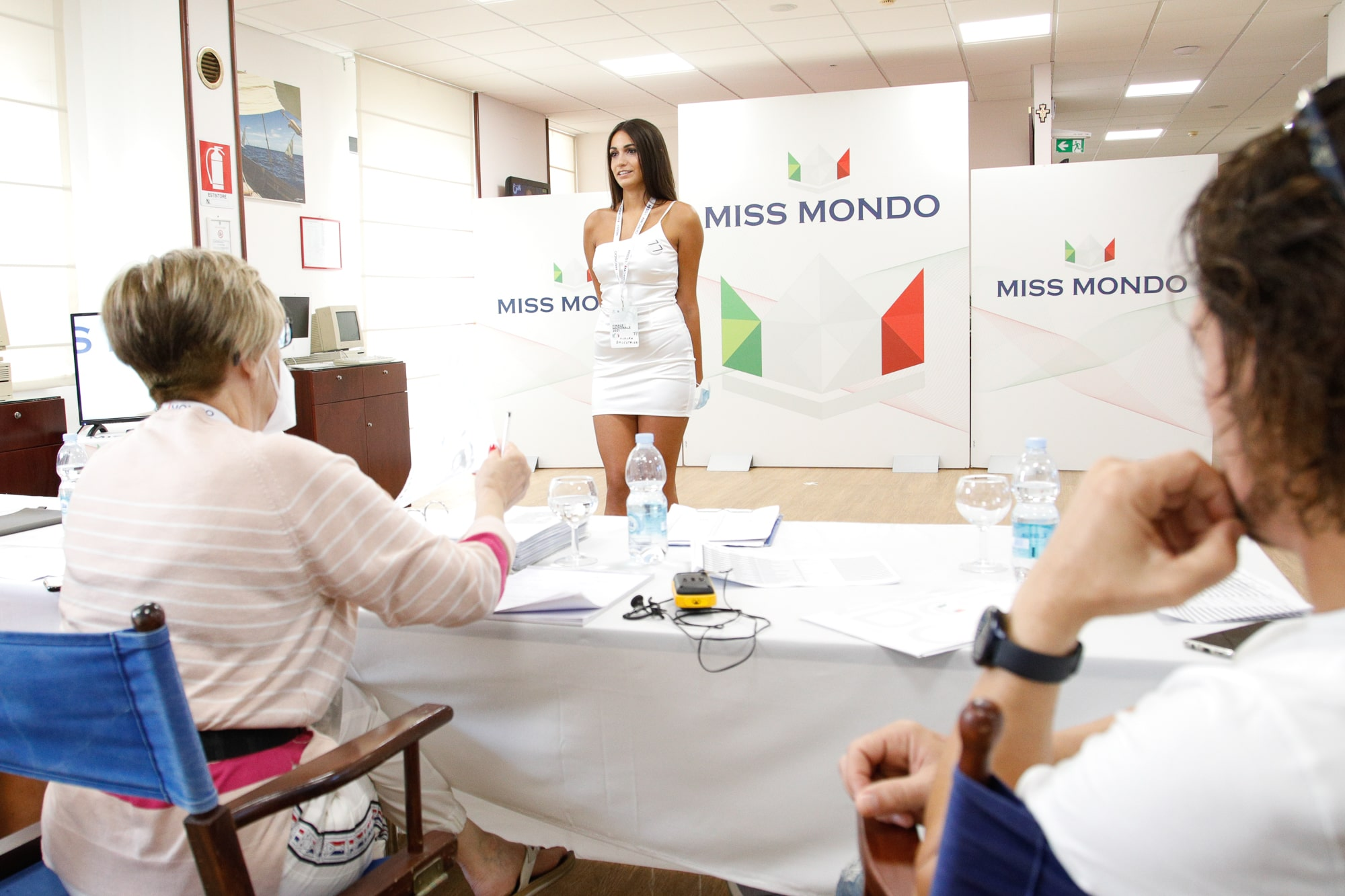 Terzo passaggio giuria per le ragazze di Missmondo Italia 2021 - 59