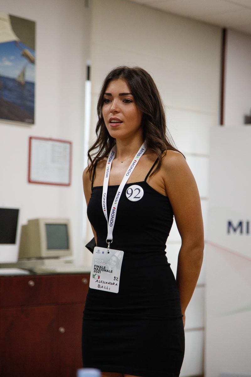 Quarto passaggio giuria per le ragazze di Missmondo Italia 2021 - 2