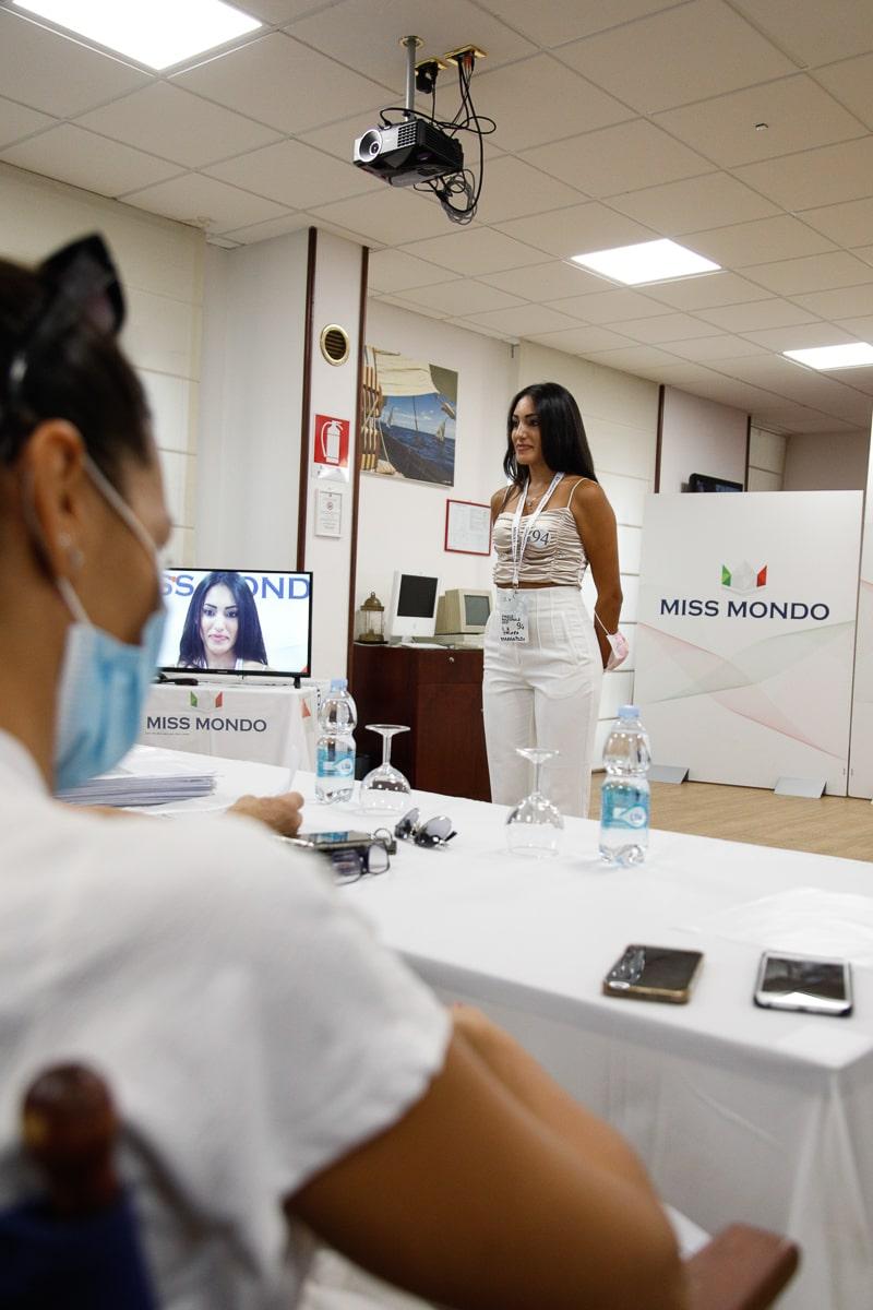 Quarto passaggio giuria per le ragazze di Missmondo Italia 2021 - 4