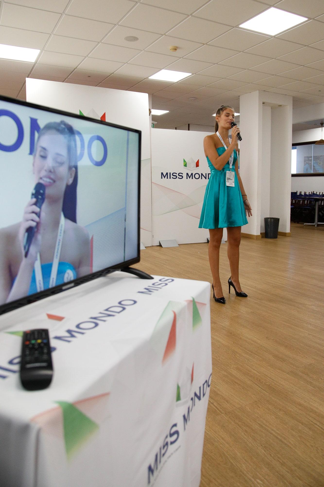 Finale nazione Miss Mondo Italia 2021 Audizione Talent 2 - 4
