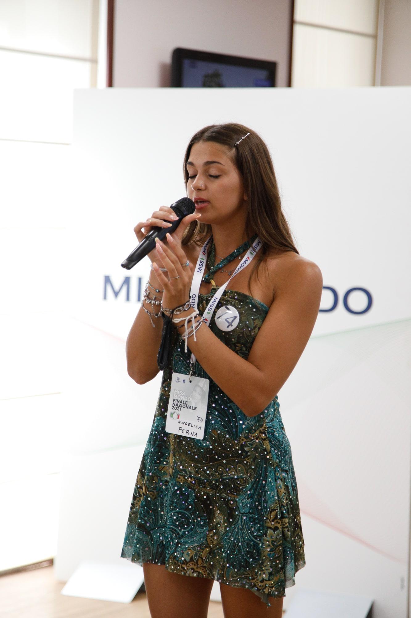 Finale nazione Miss Mondo Italia 2021 Audizione Talent 3 - 8