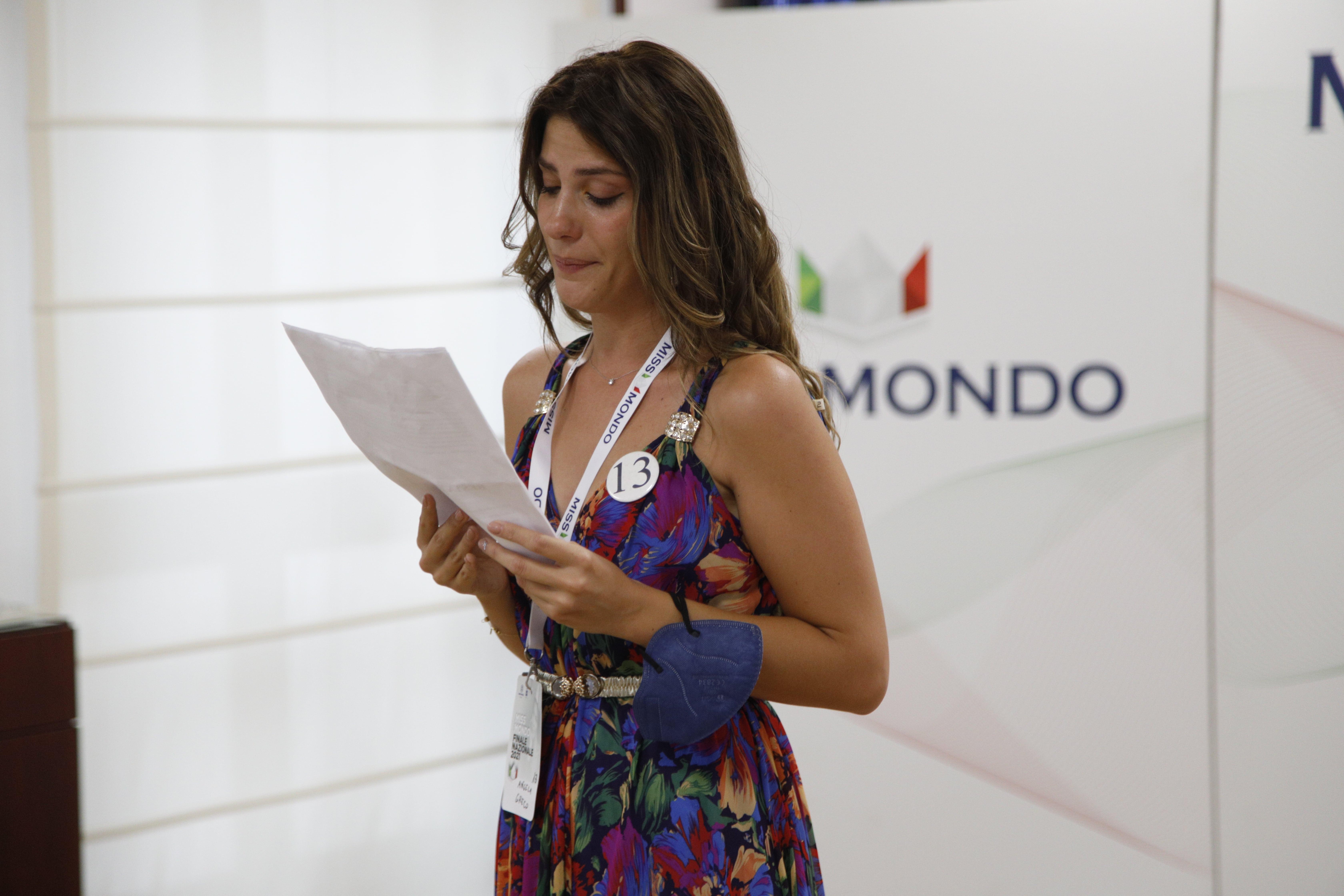 Finale nazione Miss Mondo Italia 2021 Audizione Talent 1 - 31