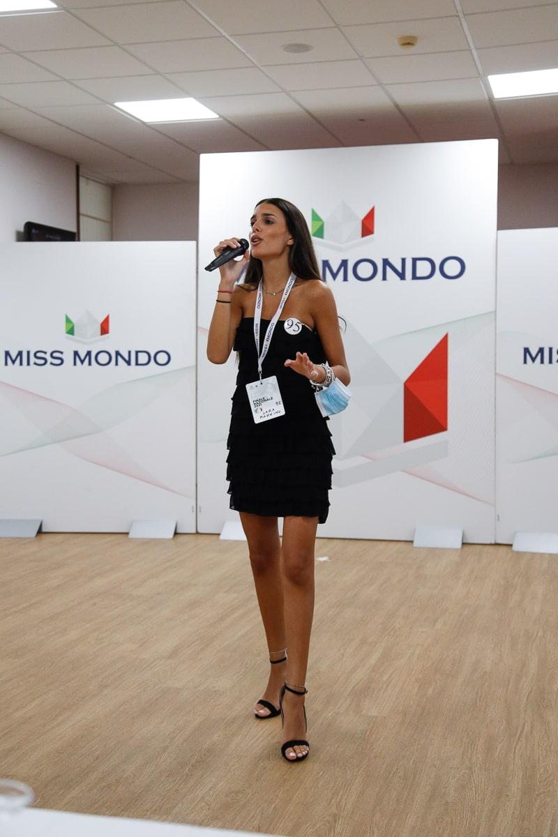 Finale nazione Miss Mondo Italia 2021 Audizione Talent 4 - 13