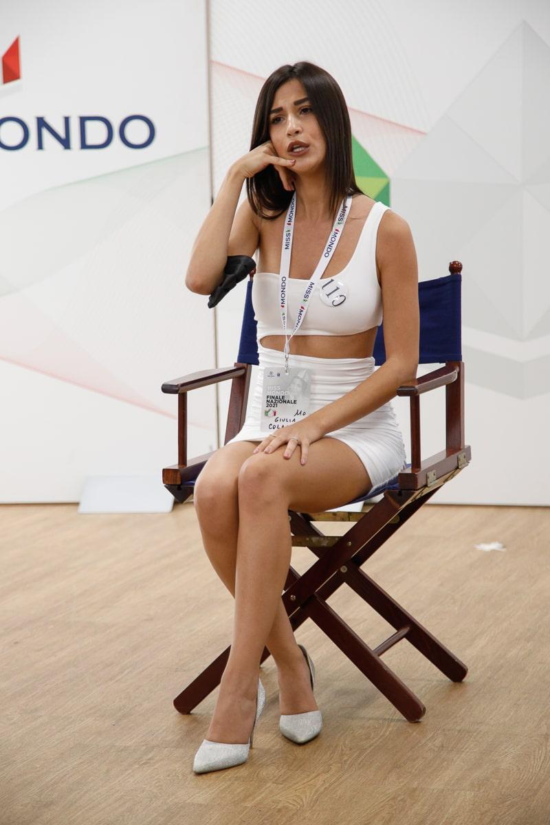 Finale nazione Miss Mondo Italia 2021 Audizione Talent 4 - 6