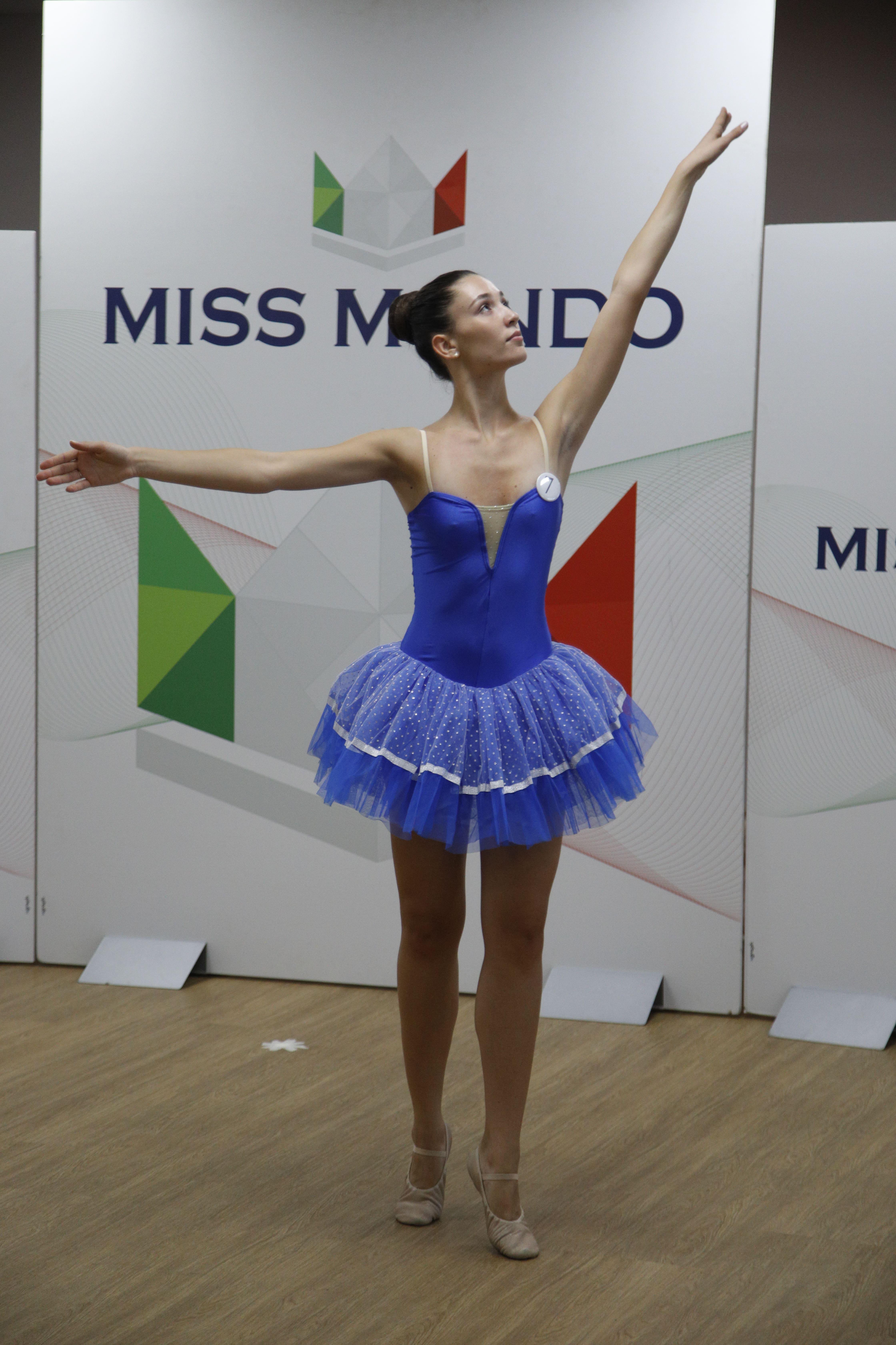 Finale nazione Miss Mondo Italia 2021 Audizione Talent 1 - 4