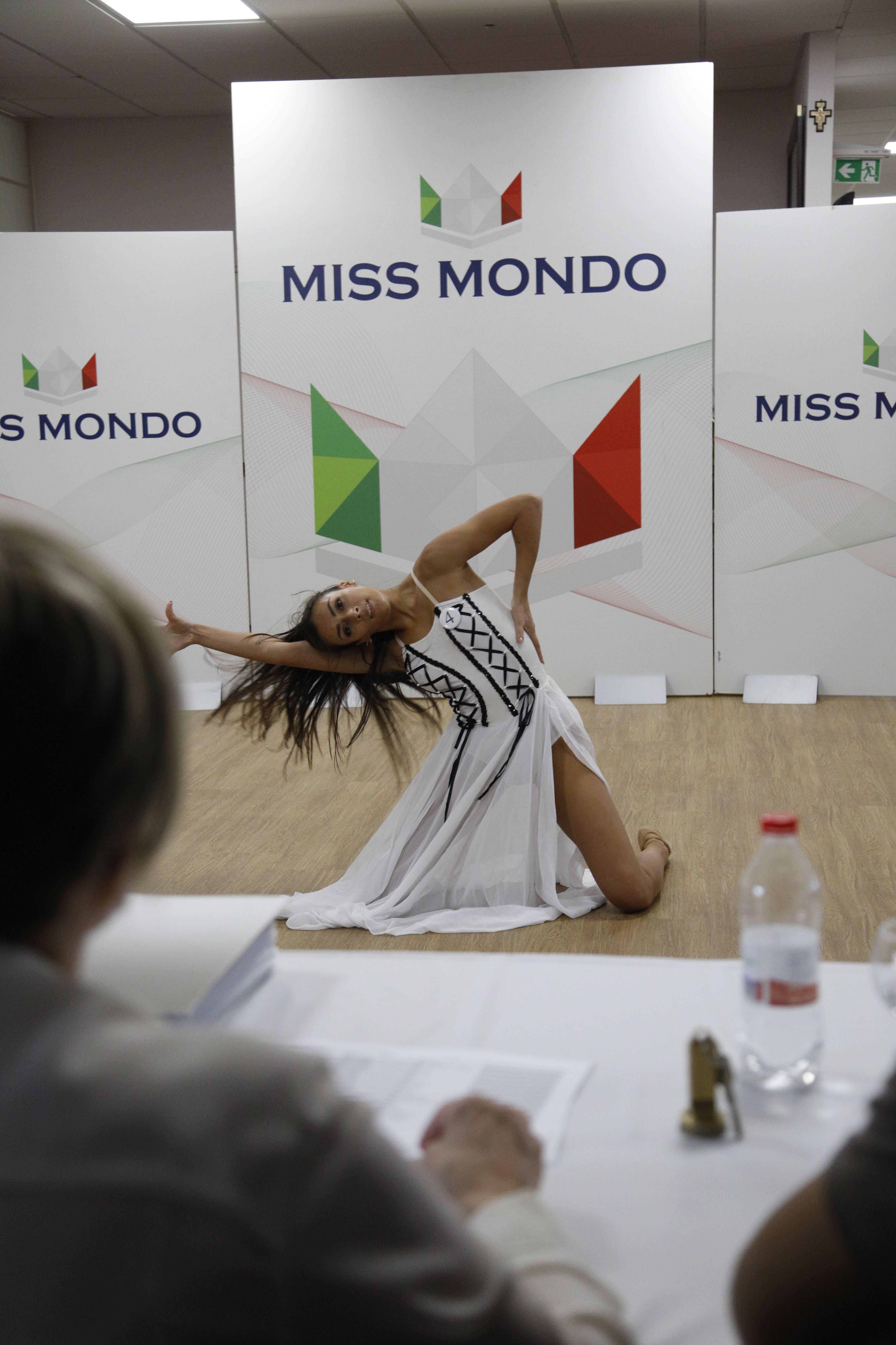 Finale nazione Miss Mondo Italia 2021 Audizione Talent 1 - 8