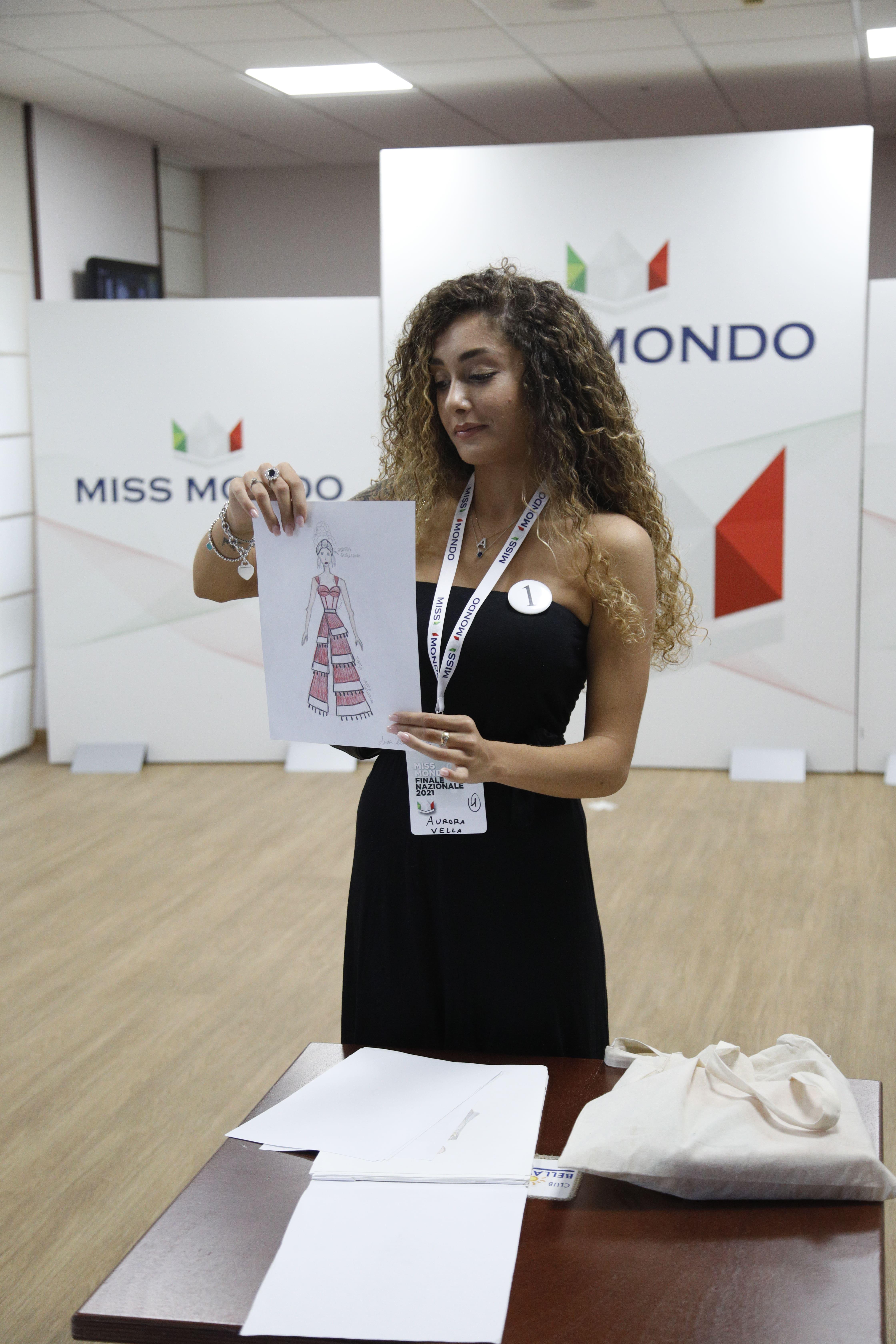 Finale nazione Miss Mondo Italia 2021 Audizione Talent 1 - 9